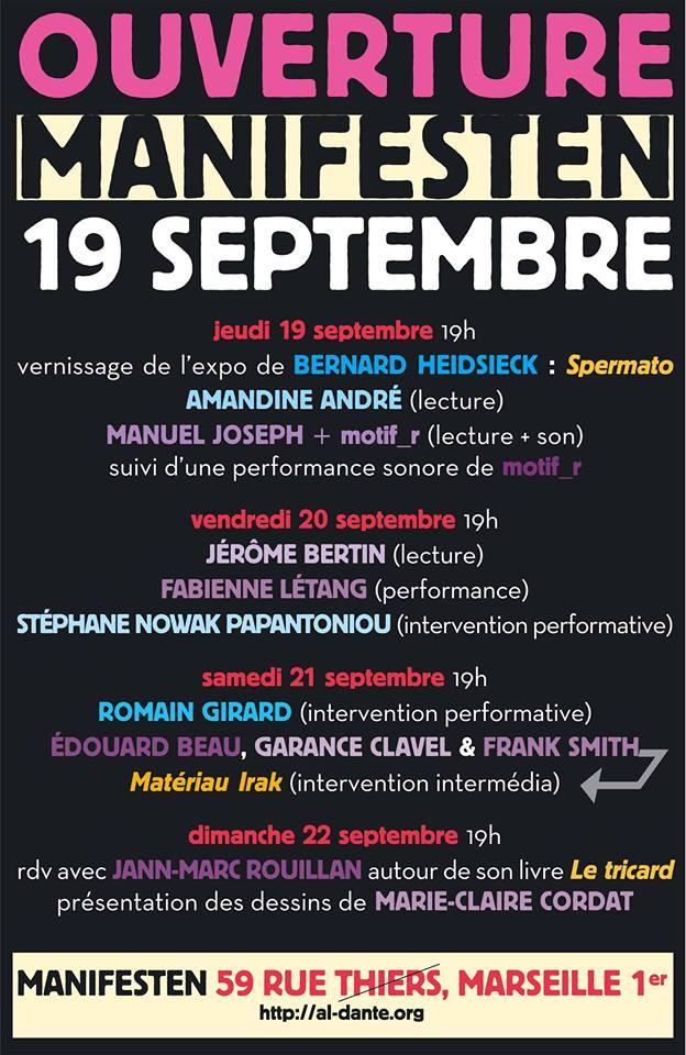 [audio agenda] Manifesten 19 septembre 2013 marseille