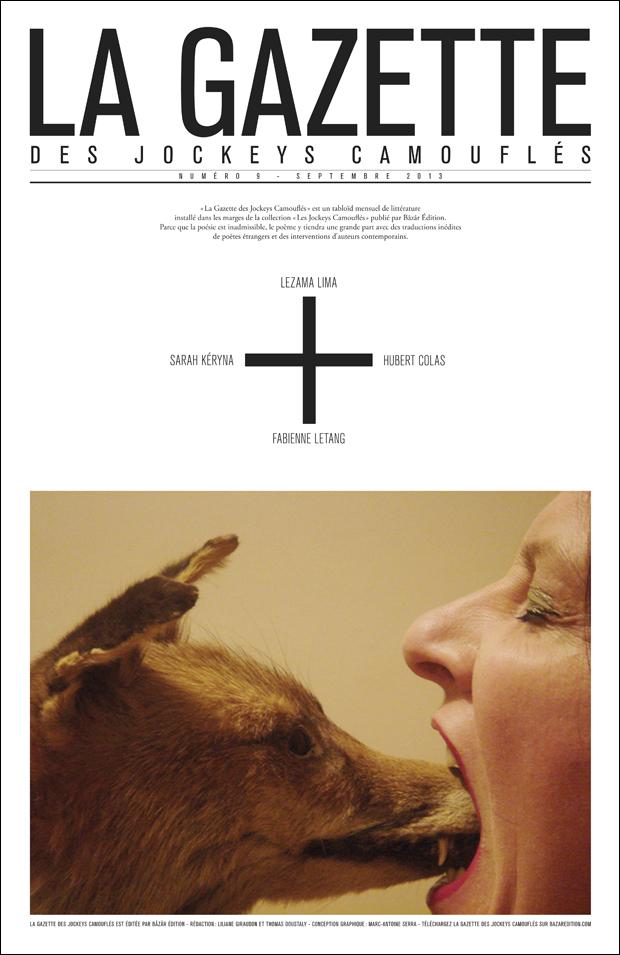 [revue] GAZETTE DES JOCKEYS CAMOUFLÉS – N°9 – SEPTEMBRE 2013