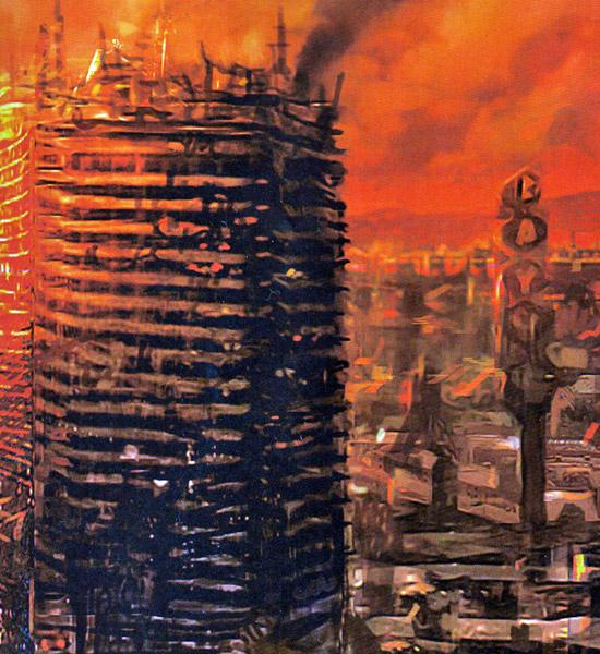 [Chronique] Serge Noël, Aux premières lueurs d'un jour nouveau (Dystopies #1)