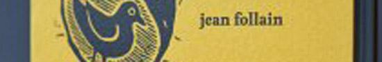 [Chronique] Jean Follain, Célébration de la pomme de terre, par Tristan Hordé