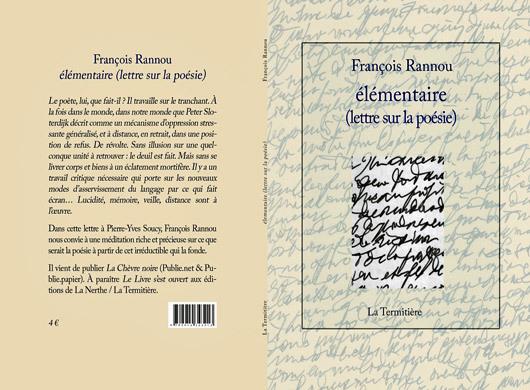 [Chronique] François Rannou, élémentaire (extrait)
