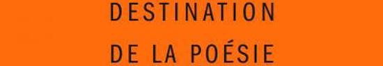 [Chronique] Destination de la poésie : marche arrière… (à propos du livre de François Leperlier), par Fabrice Thumerel
