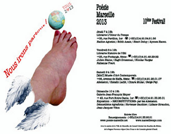 [Agenda] 10e Festival Poésie Marseille