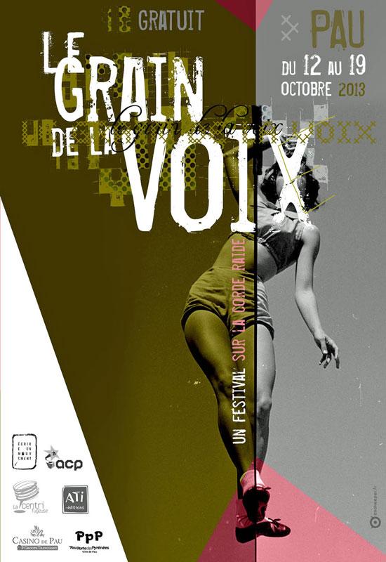 [Agenda] Festival Le Grain de la Voix à Pau