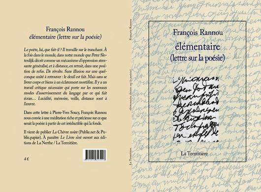 [Entretien] Déplacements poétiques de François Rannou, entretien avec Fabrice Thumerel
