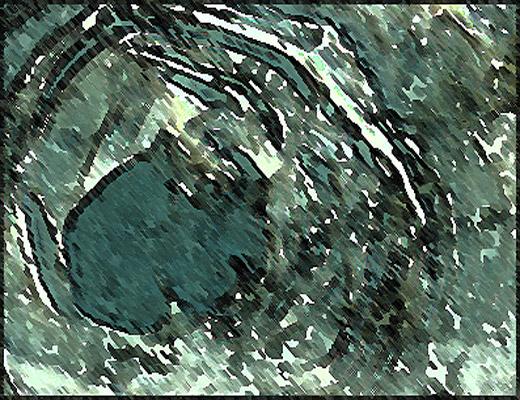 [Création] Daniel Cabanis, Verres d'eau avec noyés (3/6)