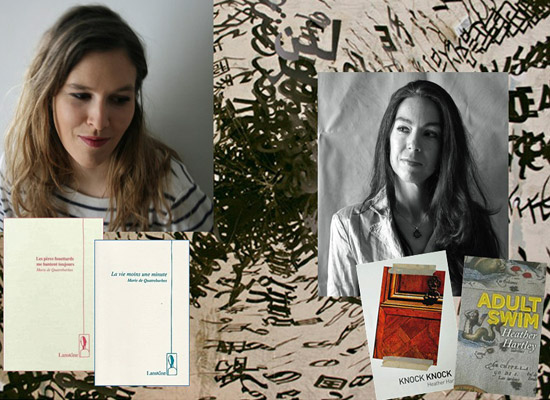 [News] Soirée Ivy writers Paris : Marie de Quatrebarbes et Heather Hartley