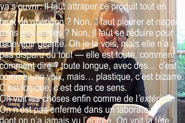 [Double chronique] Olivier Cadiot : l'inter-position de l'écrivain / la pose de l'écrivain arrivé, par Jean-Paul Gavard-Perret et Fabrice Thumerel