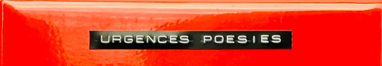 [News] Poésie is not dead, Urgences Poésies ?!?!?!